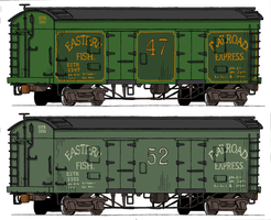 Eastern Railroad reefers by Atticus-W