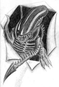 GigerAlien by NikRichards