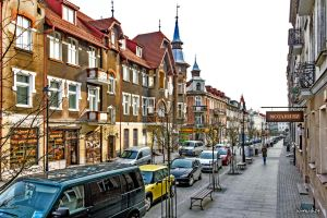 In the footsteps of old Gdansk townhouses 24 by wiwaldi24