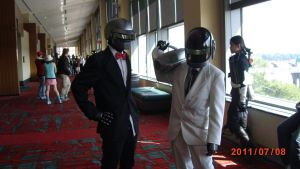 DAFT PUNK by DragonRider13025