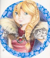 Astrid HTTYD 2 by Mischief-Moose