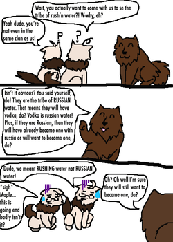 Hetalia and Warriors: It's Rushing not Russian by Artdirector123