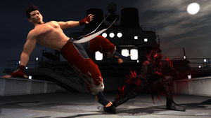Jann Lee vs Hayabusa by James--C