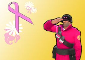Solly For Breast Cancer Awareness by FullMetalDustJacket