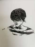 Sara Quin sketch II by doppelganger47