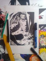 Deidara-drawing ^^ by albert-804