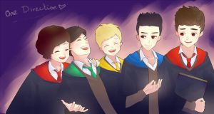 One Direction In Hogwarts by Bluekid1995