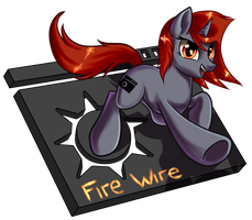 Comm - Fire Wire by AC-whiteraven