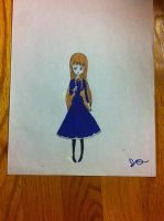 Nyotalia: The girl in the Blue Dress by Whitelili123
