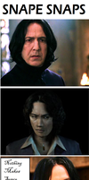 Snape snaps, oh and Tamon by Mongoosquilax