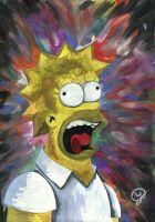 shocked homer by Sasha-Drug