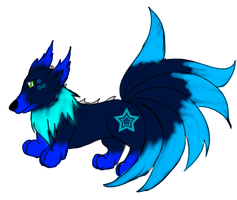 Ryushu pop 1 [SOLD] by GrimmXD-Adopts