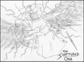The Shattered One: As the Dust Settles LINEART by SharysAogail