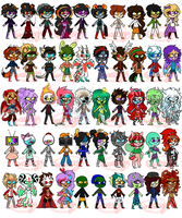 50 adopts OPENED! by sariasong64