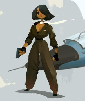 Aviator by samuelyounart