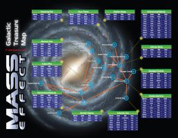 Mass Effect Galaxy Item Map by VirtualAlex