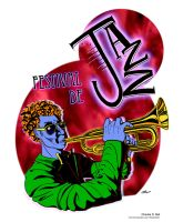 Jazz Festival Poster by deraile07