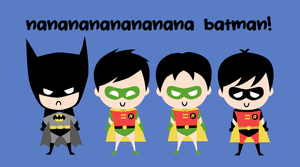 Batman and Robins by retrouvailles