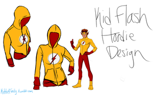Kid Flash Hoodie Design by Chibi-Aeri-Chan