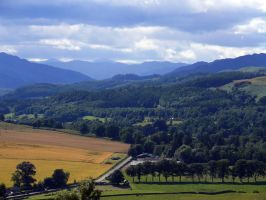 A view of the highlands by PlunkettGW