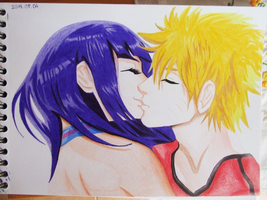 Naruto and Hinata by GR-the-queen