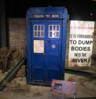 doctor who props and  sets cardiff tardis by Sceptre63