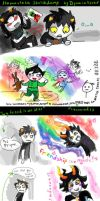 Epic Homestuck Sketchdump XD (VK.com graffiti) by DymasyaSilver