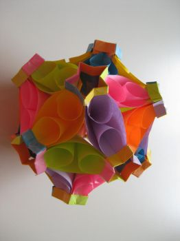 kusudama 'bubble drop' by meangreen101