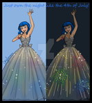 Firework Dress Design by Cor104