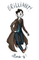 Dr Who - David Tennant by Little-Mana