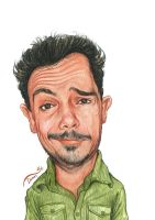 Selfportrait  Caricature by StDamos