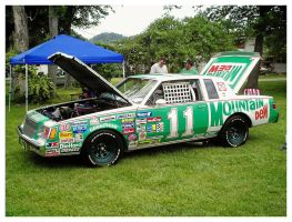 Mountain Dew 11 Race Car by TheMan268