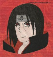 Itachi glare by MaguschildCloud