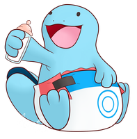 PokePadded - Quagsire (Request) by the--shambles