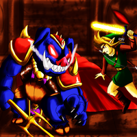 My Zelda 3 CD Cover Art Contest Entry ver 2 by Odin787