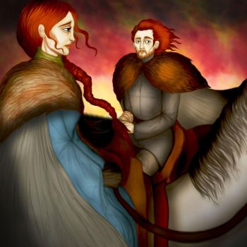 Game of Thrones - Catelyn IX. by Hed-ush