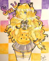 Vocaloid SeeU by suppiechan25