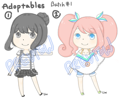 Adoptables Batch #1 [Closed] by LeMochaCrumbles