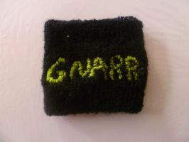 To write GNARR on her wrist. by UlquiorraJaggerjack