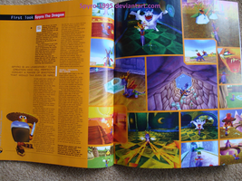 Playstation Magazine 34 Spyro the Dragon p44-45 by Spyro-1995