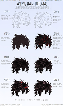 Hair Colouring Tutorial by BlurryMLS