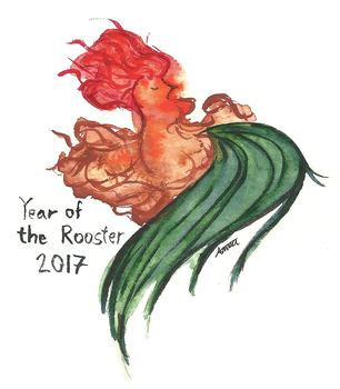 Year of the Rooster by Godesscall
