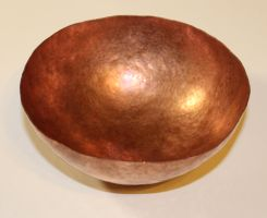 Copper Bowl by SuperFlee