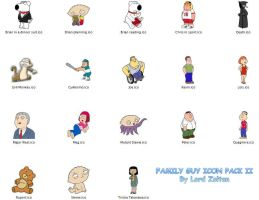Family Guy Icon Pack II by LordZoltan