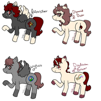 TurkishMullock Foals ::OPEN:: by PansyAdopts