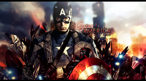Captain America by Akashishere