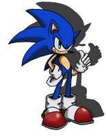 It's Sonic by GR3Gthehedgehog