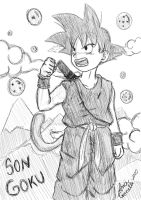 little goku by aninhachanhp