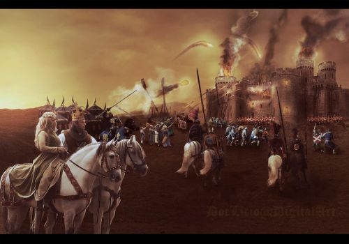 The conquest of the kingdom by doclicio