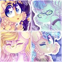 Sketchy Icon Batch 10 ~ by animorphsfan